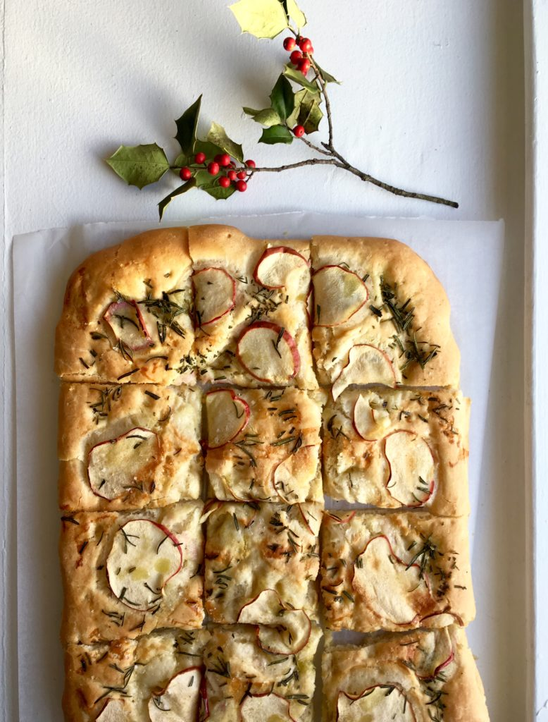 Apple and Rosemary Focaccia