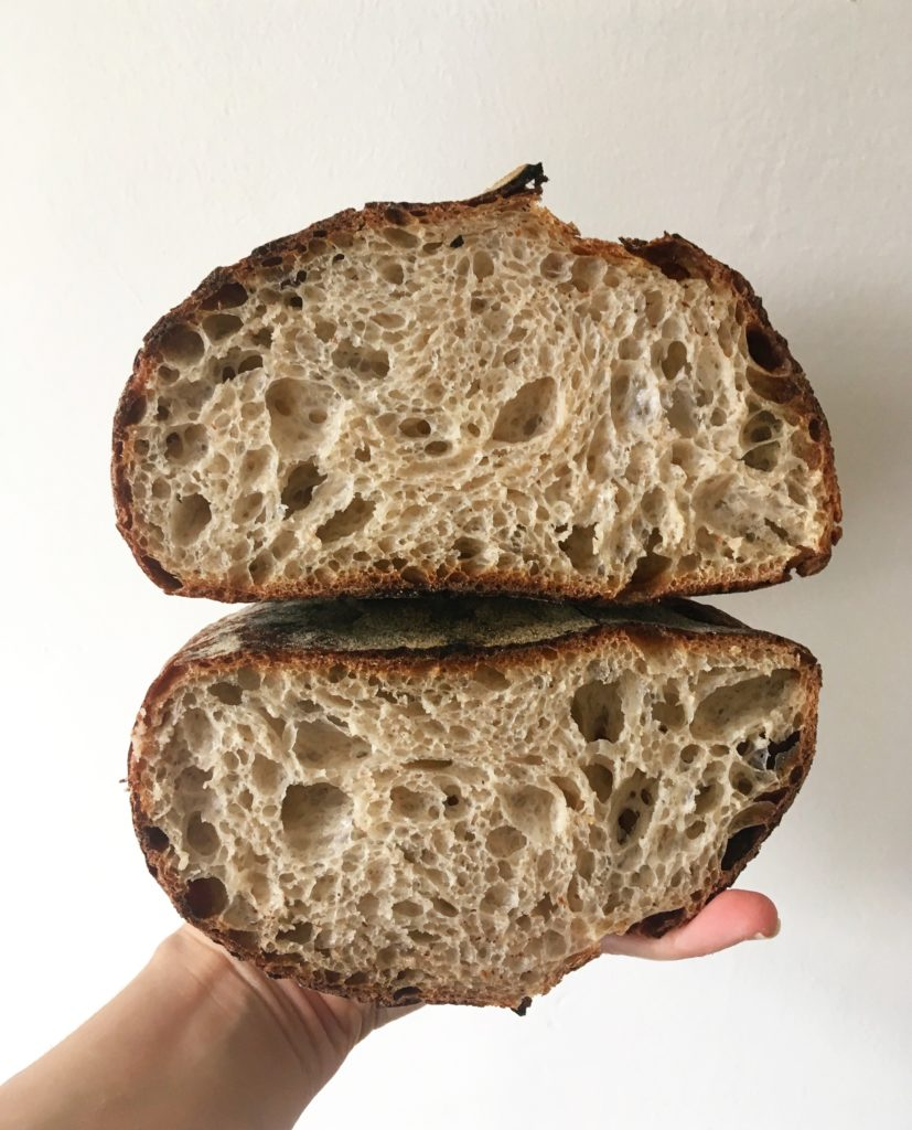 Sourdough discard loaf