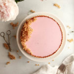 red currant vanilla panna cotta tart