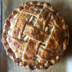 Whiskey Ginger Apple Pie