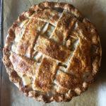 Whiskey Ginger Apple Pie