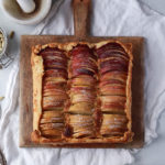 Rustic Apple Ombré Tart with Honey Frangipane