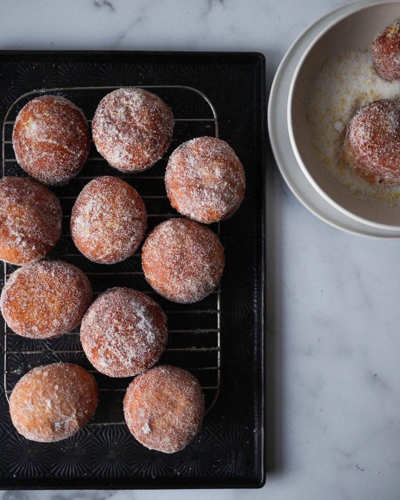 Hokkaido Milk Bread Doughnuts