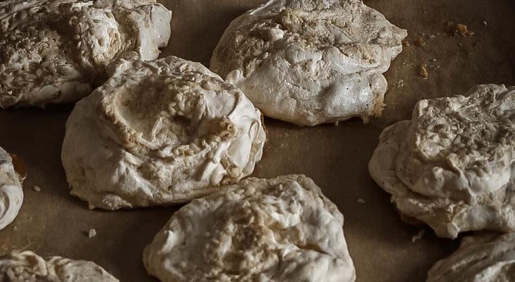 """Halva + Tahini """"Forgotten Cookies"""""""